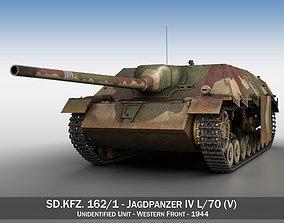 Jagdpanzer IV L70V - Late Production 3D model