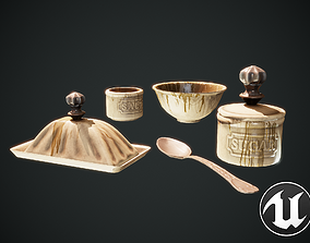 Kitchenware 3D model low-poly