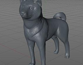 3D print model Shiba Inu