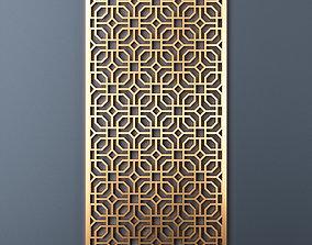 Decorative panel 218 3D model