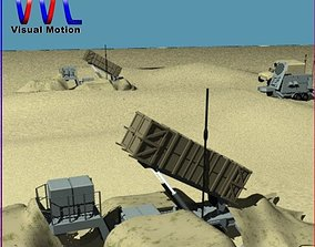 3D model Patriot Missile System