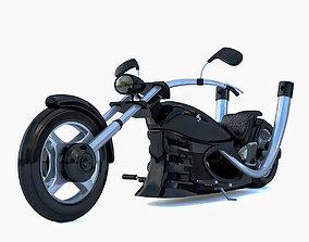 3D Chopper Concept Black