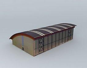Sports complex C Serradero 3D model