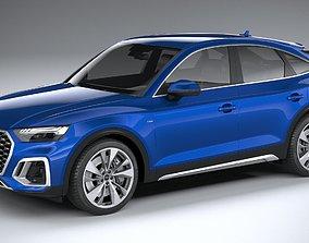 3D Audi Q5 Sportback S-line 2021