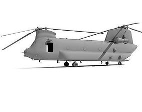 Chinook CH-47 Helicopter 2 3D