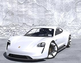 Porsche Taycan 3D