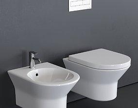 3D asset Noken Tono Wall-Hung WC