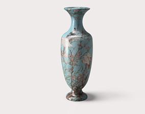Japanese style large vase 3D printable model