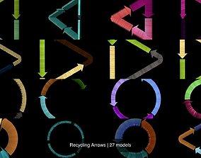 Recycling Arrows 3D