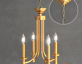 3D Traditional chandelier