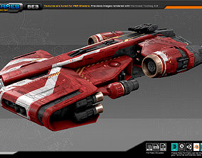 FEDERATION Destroyer BE3 3D asset