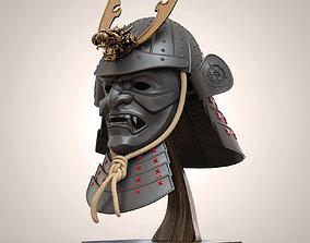 Samurai Kabuto Helmet Japanese Warior 3D printable model
