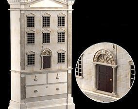 3D DOLLS HOUSE CABINET