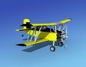 3D model Grumman G-164 AgCat V06