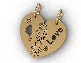 3D print model gift for lovers