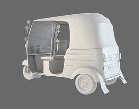toktok rickshaw taxi 3D model
