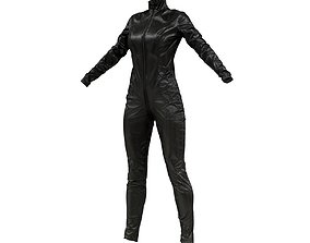 3D model Shiny Detailed Catsuit