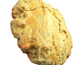 Photorealistic 3D Scanned Eggbread game-ready