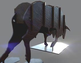 3D printable model Bull Figurine