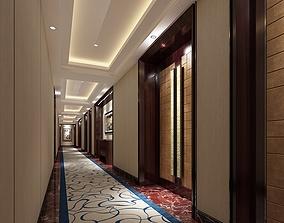 3D model other Hotel Corridor