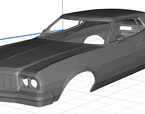 Gran Torino Starsky Hutch Printable Body Car