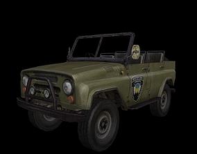3D model UAZ 469