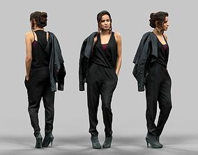 3D model Dressed in Black
