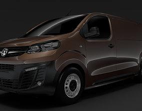 3D model Vuaxhall Vivaro L2 2020