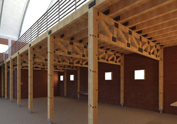 Wood Mezzanine Modeling