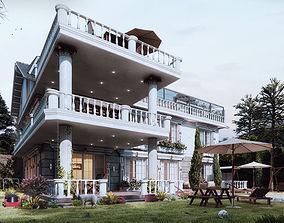 Exterior villa Design 3D