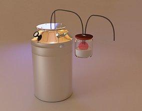 3D model Alcohol mashine