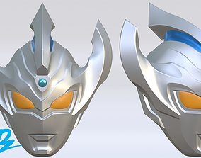 3D printable model Mask Ultraman Taiga