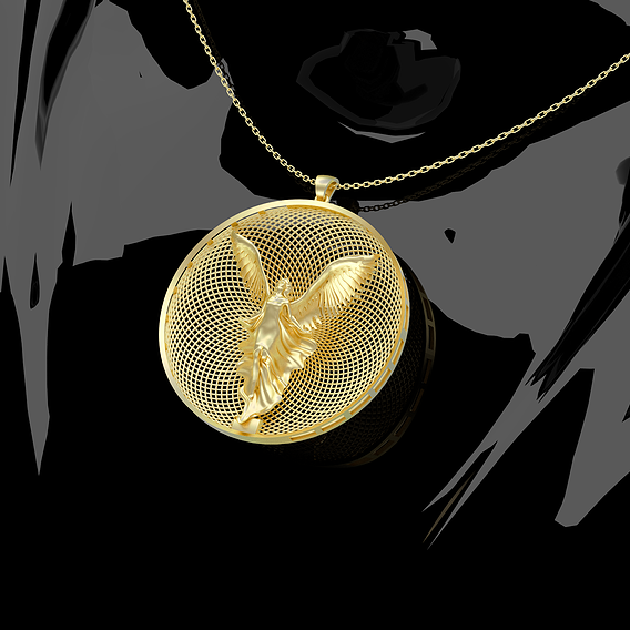 Designing a jewelry pendant collection