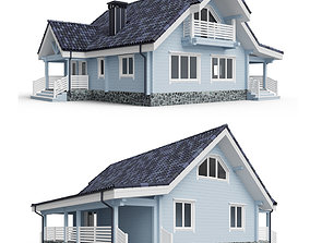 Private house 3D model 012