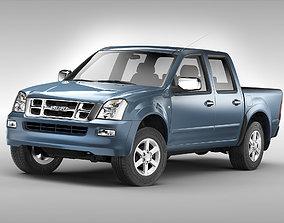Isuzu D-Max Crew Cab 2004 - 2011 3D model