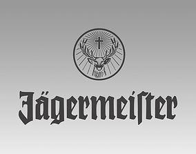 3D Jagermeister logo