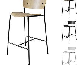 Tradition Pavilion AV7 stool 3D