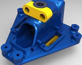3D printable model Effector for hotend V6 magballs 1