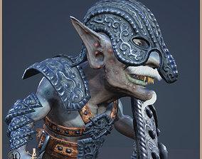 Goblin Gladiator 3D asset