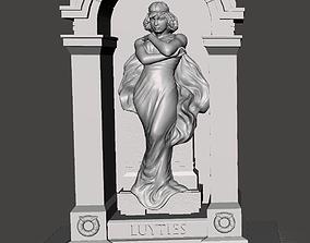Herman Luyties MD Grave Marker St Louis 3D print model 1