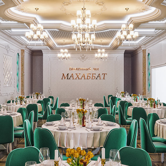 Luxury restaurant in Astana