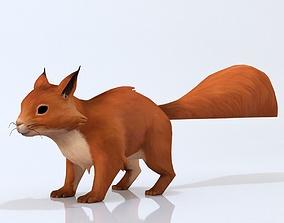 Squirrel hamster 3D model
