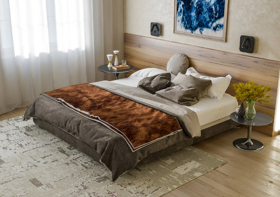 Luxury bedroom interior design by 3DAG