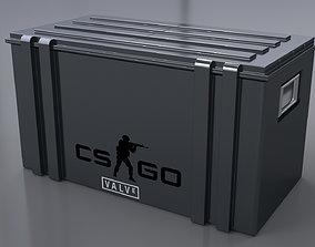 3D asset Weapon Case Gun Case