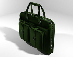 Briefcase - Military 3D model
