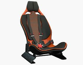 Racing Seat 3D asset
