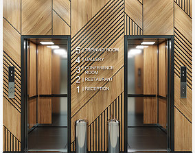 3D model building Elevator