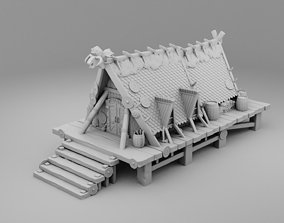 3D printable model Bungalows of Vikings