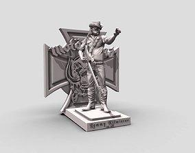 Lemmy Kilmister motorhead - 3Dprinting