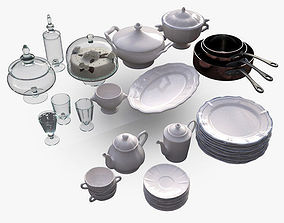 3D model Kitchen Accessories 3